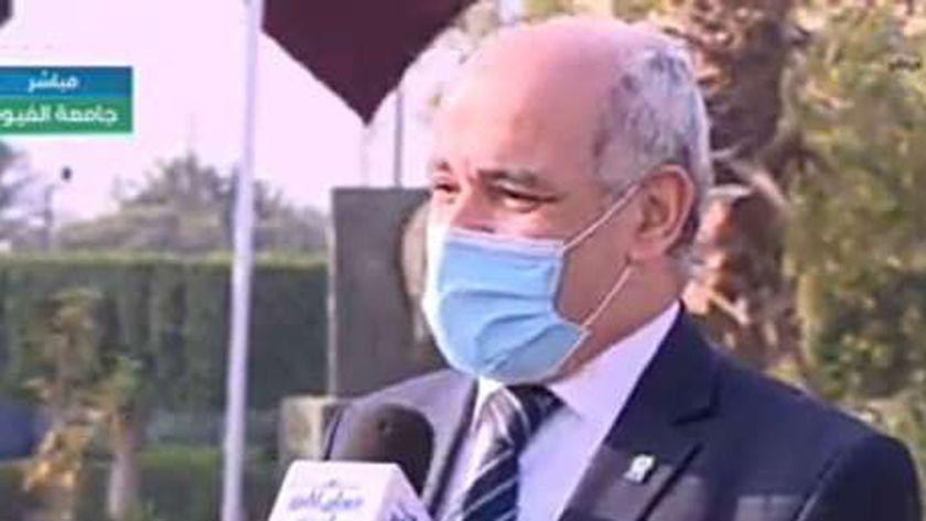 الدكتور أحمد جابر شديد.. رئيس جامعة الفيوم