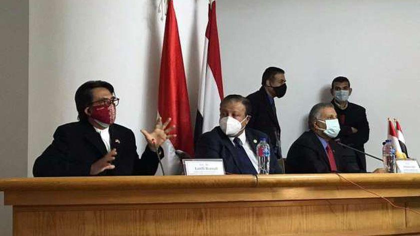 جانب من ندوة السفير الإندونيسي بالمجلس الأعلى للثقافة