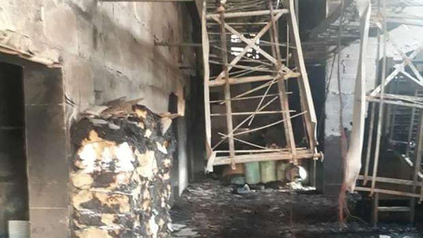 السيطرة علي حريق بمخبز سياحي دون إصابات بسوهاج