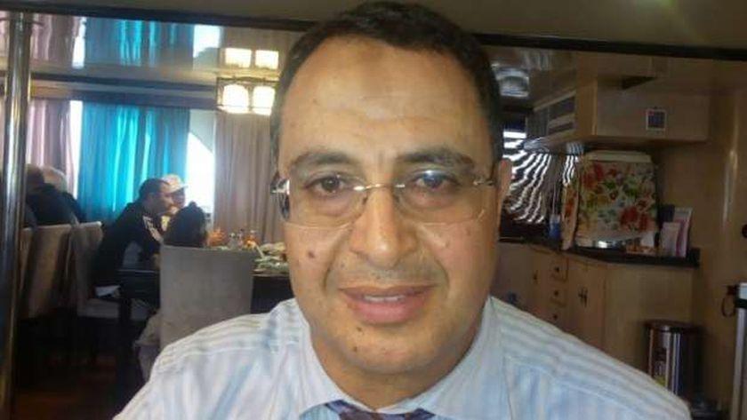الإعلامي أشرف محمود رئيس الاتحاد