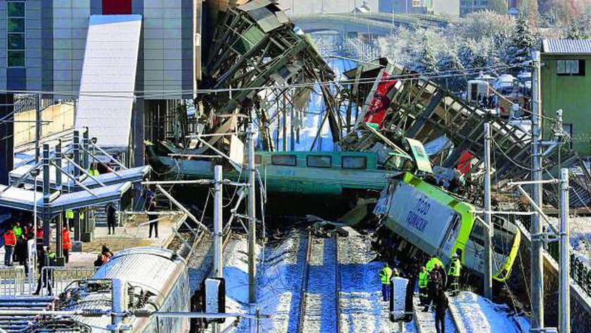 أشهر حوادث القطارات حول العالم