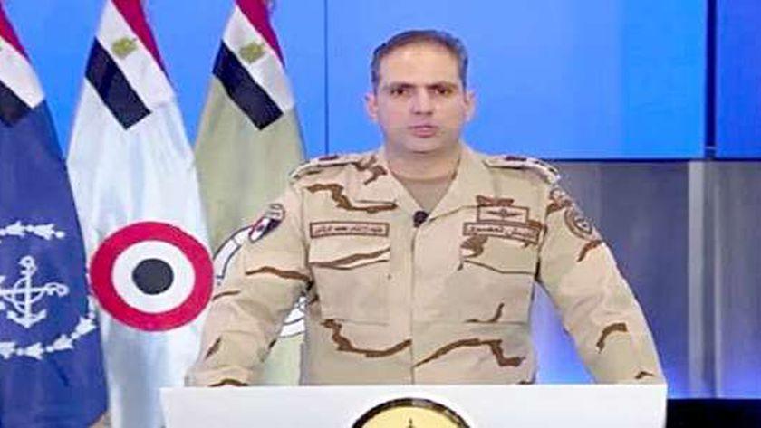 المتحدث العسكري: الشائعات هدفها الإضرار بالمواطنين والدولة - مصر -