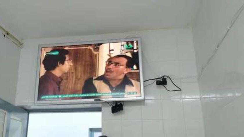 شاشات التلفزيون في عزل ميت غمر