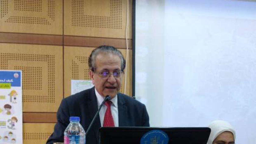 ممثل منظمة الصحة العالمية في جامعة الإسكندرية