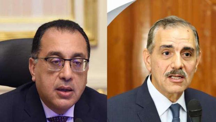 رئيس الوزراء ومحافظ كفر الشيخ