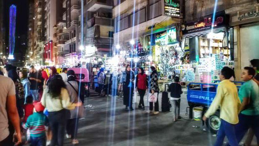 محلات الإسكندرية ترفض الغلق