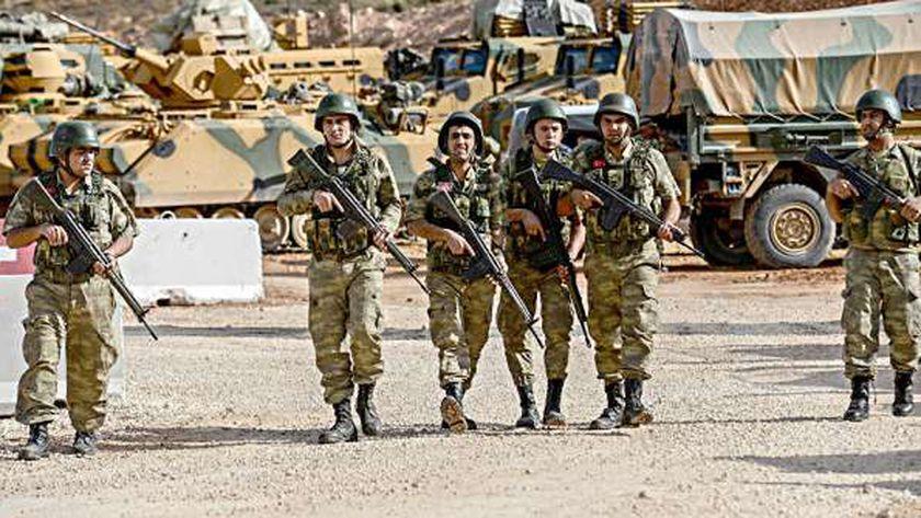 عناصر من جيش الاحتلال التركي