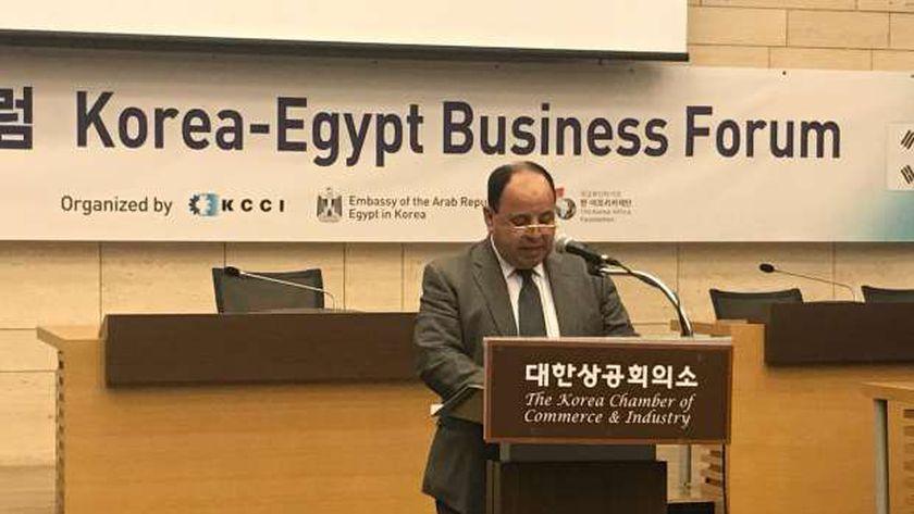 معيط للمستثمرين الكوريين: حريصون على حل مشكلاتكم بالسوق المصرية