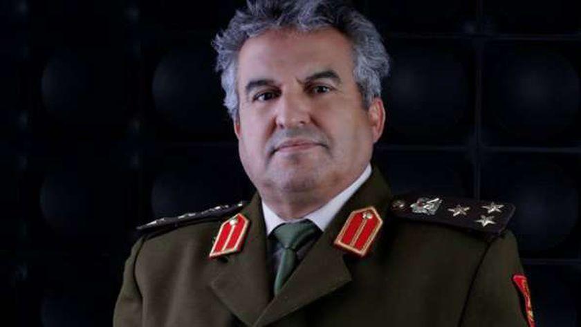 مدير إدارة التوجيه بالجيش الليبي العميد خالد المحجوب