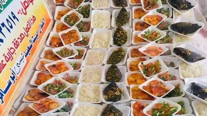 مطبخ خير لإفطار الغلابة في كفر الشيخ:« صدقة جارية على روح غريق بالبرلس»