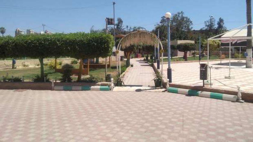 حدائق ومتنزهات كفر الشيخ خالية من المواطنين في ثاني أيام العيد