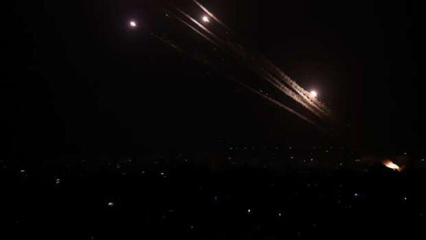 القبة الحديدية تعترض صواريخ قطاع غزة