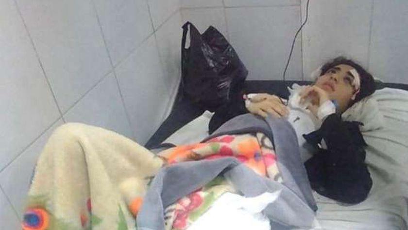 حادث سير مش تحرش .. قصة إصابة طالبة أثناء سيرها في الشارع بكفرالشيخ - المحافظات -