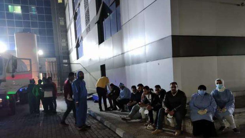 محيط مستشفى المبرة ببورسعيد
