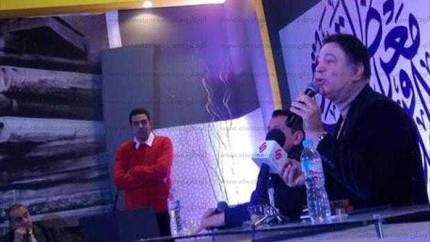 """إيمان البحر درويش فى ندوة""""مشوار نجم"""" بمعرض الكتاب"""