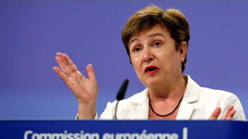 مديرة صندوق النقد الدولي كريستالينا جورجييفا