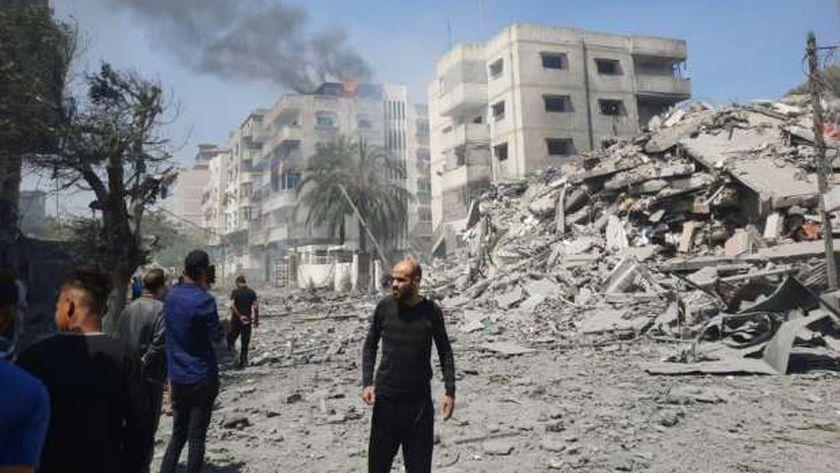 العدوان الاسرائيلى على فلسطين