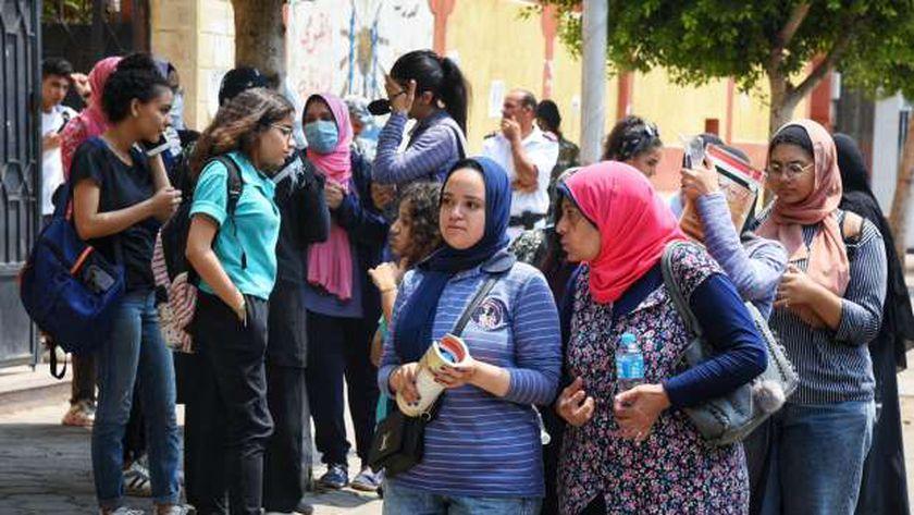 خروج الطلاب من الامتحانات - صورة أرشيفية