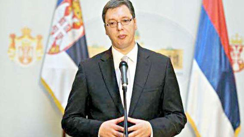 رئيس صربيا ألكسندر فوتشيتش