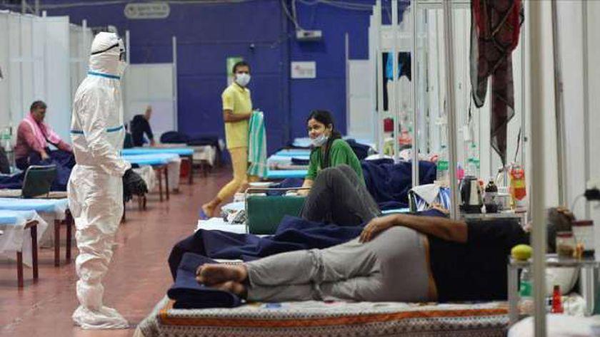 إصابات كورونا في الهند