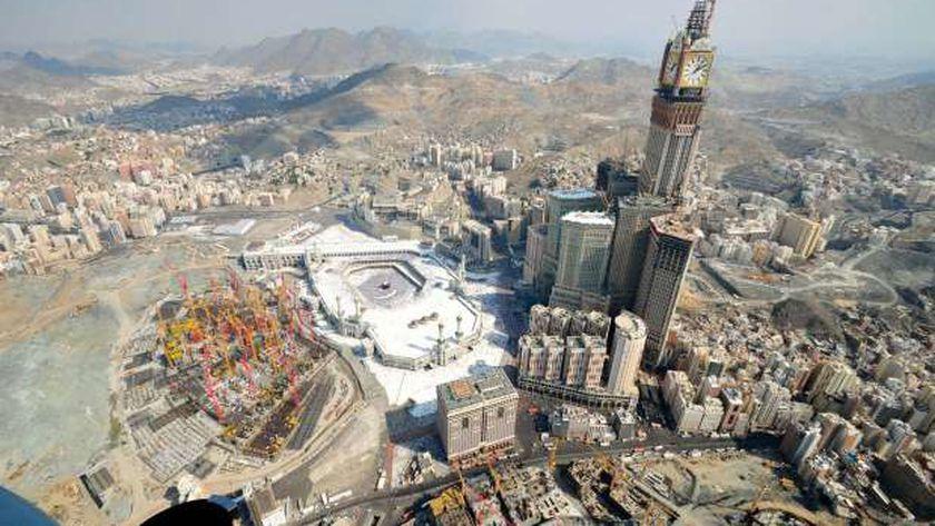 درجات الحرارة في مكة المكرمة تسجل الأعلى على وجه الأرض