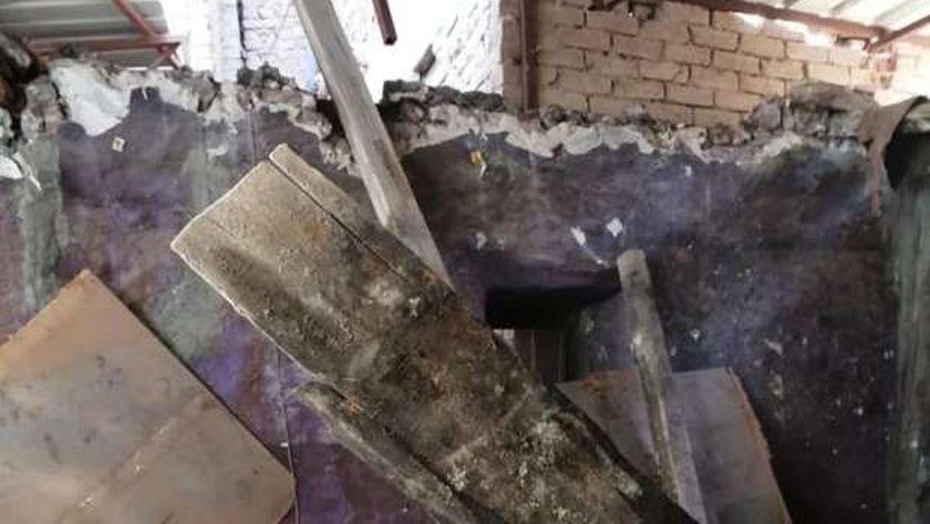 محافظ الغربية:نقل الأسر المتضررة من انهيار منزل بحى ثان طنطا