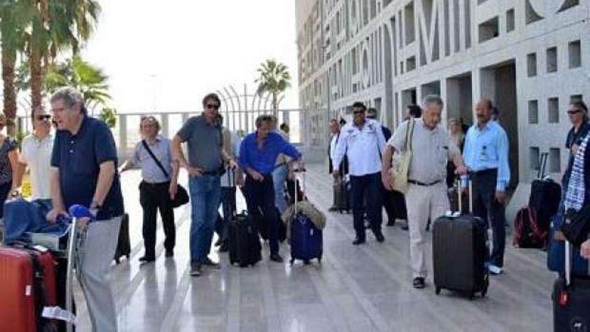 مطار الأقصر الدولي - أرشيفية