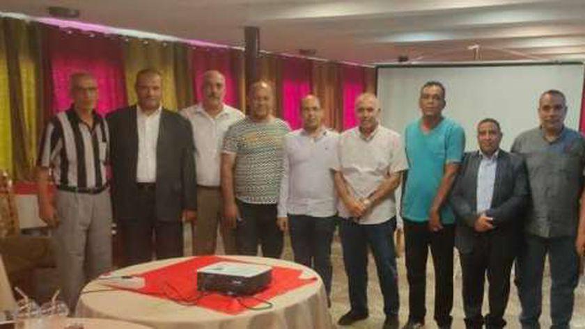 اجتماع اتحاد الميني فوتبول