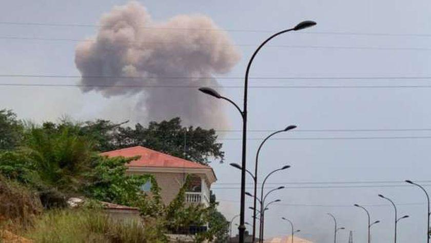 مقتل 20 شخصا على الأقل جراء انفجارات في غينيا الاستوائية