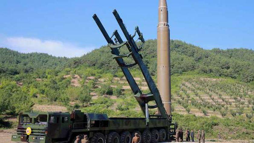 أحد صواريخ كوريا الشمالية