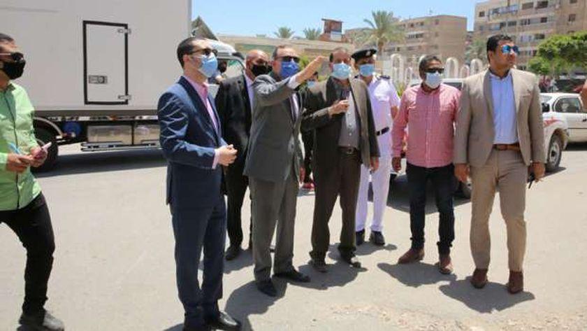 محافظ كفر الشيخ يكلف برفع القمامة وكفاءة شوارع العاصمة