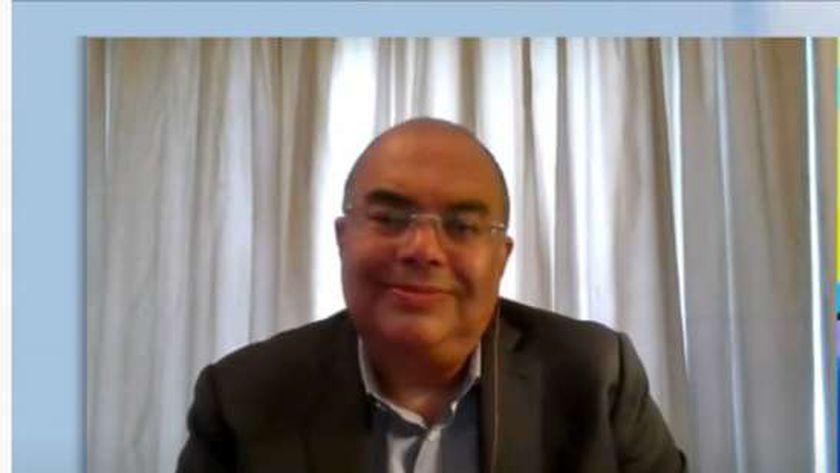 الدكتور محمود محي الدين المدير التنفيذي لصندوق النقد الدولي