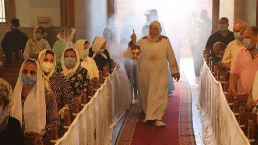 قداس في أحد كنائس الارثوذكس