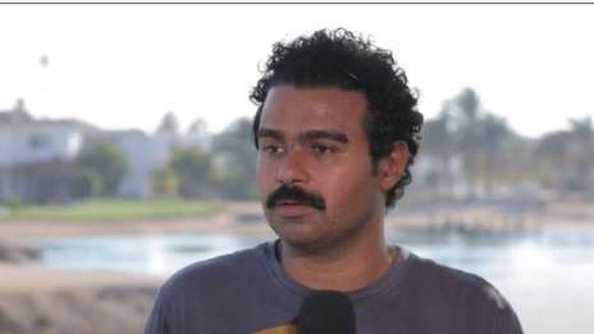 الفنان إسلام إبراهيم