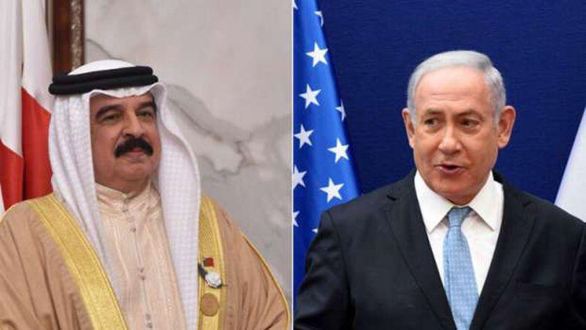 العاهل البحريني ورئيس وزراء إسرائيل