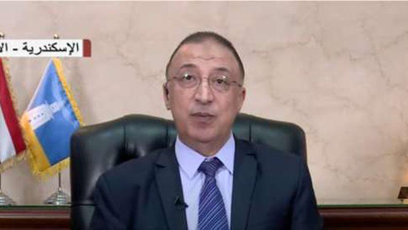 اللواء محمد الشريف، محافظ الإسكندرية