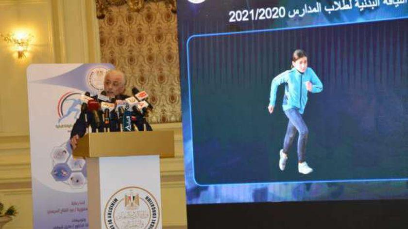 الدكتور طارق شوقي خلال إعلانه عن المشروع