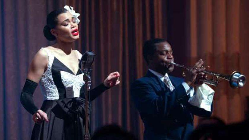 أندرا داي في مشهد من فيلم «The United States Vs. Billie Holiday»
