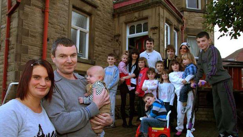الأسرة البريطانية