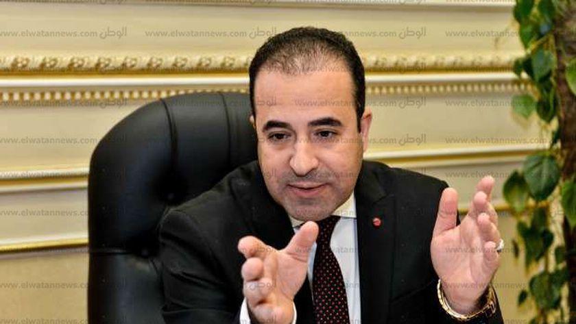 النائب أحمد بدوى رئيس لجنة الاتصالات بمجلس النواب