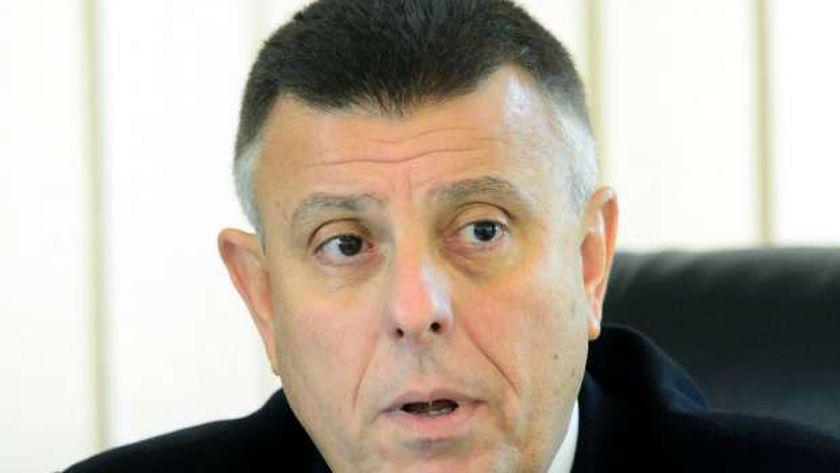 الدكتور محمود المتيني .. رئيس جامعة عين شمس