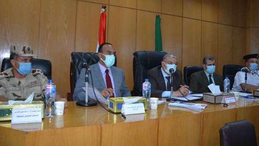 اجتماع المجلس التنفيذي بالمنيا