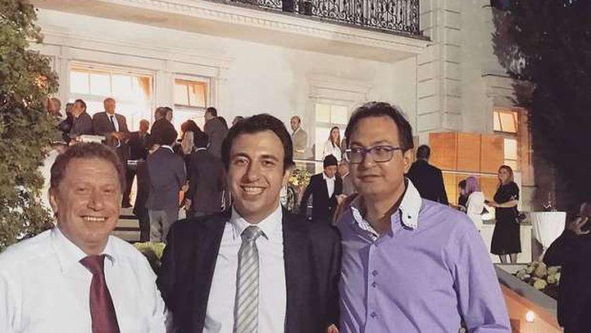 الدكتور حسين فهمي، استشاري إدارة الأعمال ونظم المعلومات في فيينا، وأحد علماء مصر تستطيع