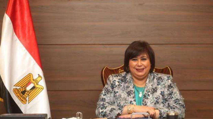إيناس عبد الدايم.. وزيرة الثقافة