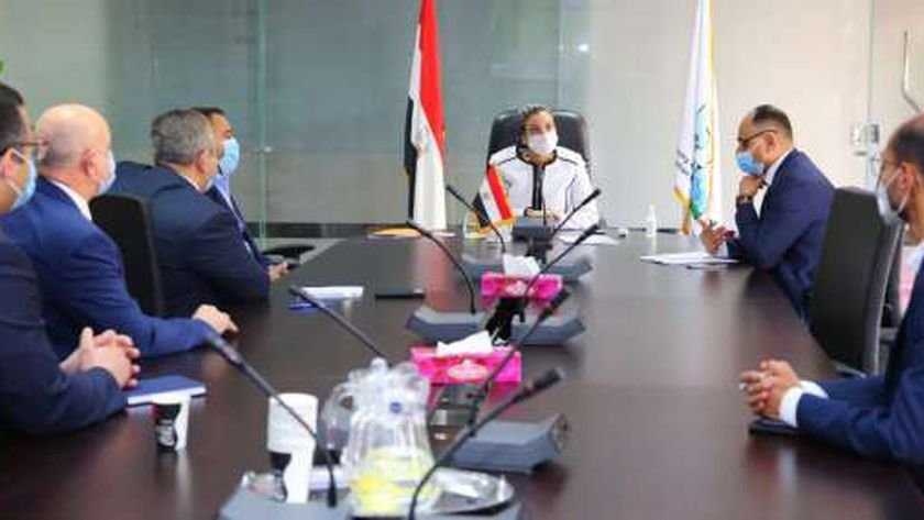 ياسمين فؤاد وزيرة البيئة في الاجتماع المصري السعودي