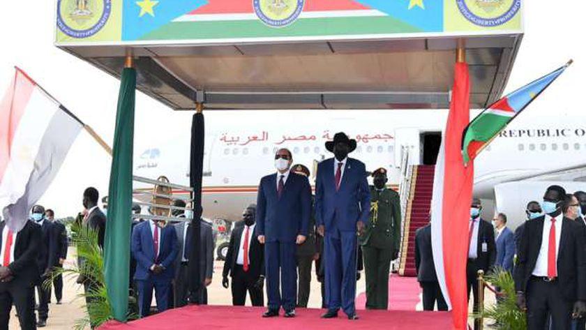 الطويل: توقيت زيارة السيسي لجوبا مهم نظرا لتوترات بدول القرن الأفريقي