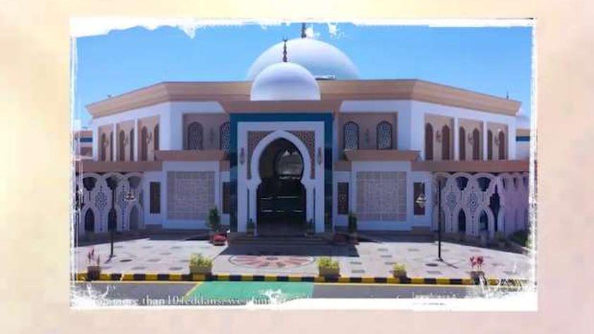 صورة من أحد المساجد التي افتتحها الرئيس عبد الفتاح السيسي