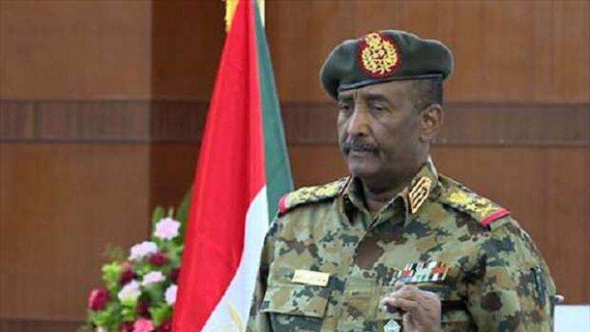 عبدالفتاح البرهان رئيس مجلس السيادة السوداني