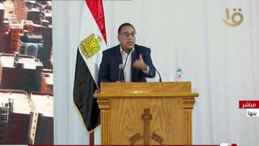 الدكتور مصطفى مدبولي يسرد تفاصيل مخالفات البناء في القليوبية