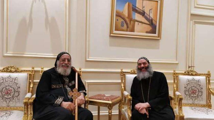 الأنبا كاراس والبابا تواضروس